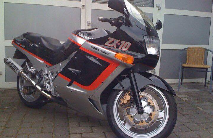 Brugt Kawasaki ZX10 1988 1