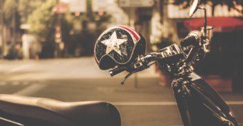 Motorcykel hjelm