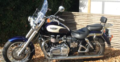 Brugt Triumph Bonneville America 2008 2
