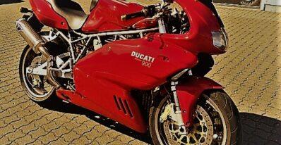 Brugt Ducati 900 Super Sport 2000 4